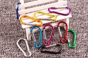 #4#5 карабин Оснастки крюк вешалка брелок пешие прогулки кемпинг красочные алюминиевая Весна карабин кольцо