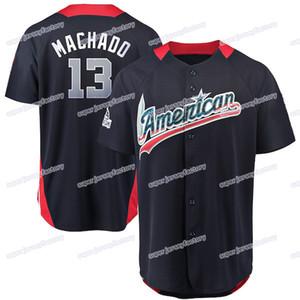 Homens 2018, All Star 13, Manny Machado, 35, Brad Brach, 54, Cashner Andrew, 60, Mychal, Givens, 36, Caleb, Joseph, 29, Jace, Peterson, basebol, Jerseys