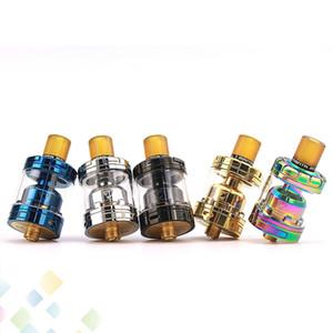 Original Advken MANTA MTL RTA 2 ml 3 ml com Vácuo banhado a Ouro Construir Deck Ajustável Inferior fluxo de Ar Fit 510 E Cigarro DHL Livre