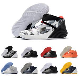 Nouveau Westbrook mens chaussures de basket-ball Mens Designer Sports pour Hommes Race Coton Shot All star mirror image Tribute Trainers UNC Sneakers 40-46