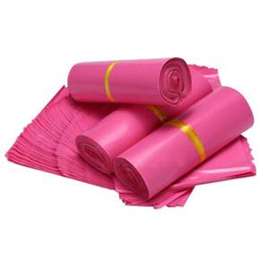 28x42cm Bolsos expresos impermeables rosados Bolsos desechables del mensajero para los bolsos del correo de la entrega Bolso del sobre envío libre