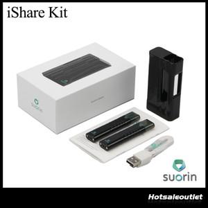 Kit iShare autentica Suorin con 1,2 ml Cartuccia 1600mAh batteria portatile di modo E Cigarette Vape vaporizzatore Kit 100% originale DHL