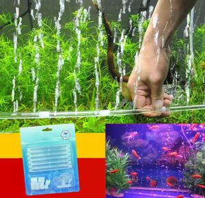 Akvaryum Balıkları Tankı Malzemeleri Şeffaf Plastik Kabarcık Değnek Akvaryum havalandırıcı Balık tankı kabarcıklar Akvaryum Kabarcık taş