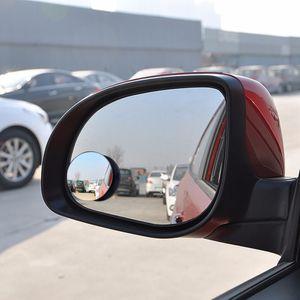 1 ADET Oto Geniş 360 Geniş Açı Yuvarlak Konveks Ayna Araç Araç Yan de kör nokta Kör Nokta Ayna dikiz aynası