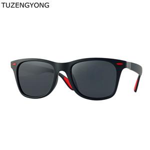 TUZENGYONG Marke Herrenmode Polarisierte Sonnenbrille Für Frauen Fahren Sonnenbrille Quadratischen Rahmen 100% UV Schutz Brillen Oculos