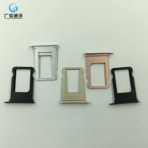 Nuevo soporte de bandeja de tarjeta SIM para iPhone 7 7G, repuestos de soporte de soporte de bandeja nano Sim