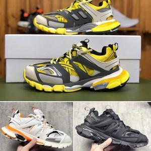 Triple S Clunky Sneaker Fashion Track Scarpe Novità Release 3 Tess Gomma Maille Trek Scarpe per uomo Donna