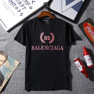 Fashion Explosion Brand Fashion Designer T-shirt da uomo nuove lettere di moda a maniche corte T-shirt casual nuovo elenco