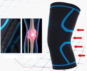 Sports Braçadeiras Honeycomb Bater Almofada joelho pad manga de protecção de segurança Outdoor Basketball Futebol Montanhismo Sporting