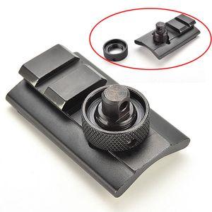 airsoft Bipod Sling Adapter girevole supporto Stud 1 slot del tessitore di 20mm Picatinny