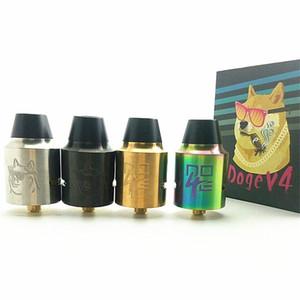 E Cigarro RDA Doge V4 Rebuildable Atomizador Airflow Mech Tanque para Mehanical Mod Box Kit Vaporizador com Acessório DHL Livre