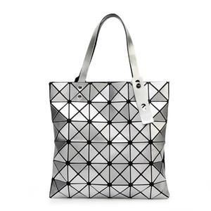 {Orijinal Logo} Çanta Kadın Katlanmış Geometrik Ekose Çanta Moda Casual Tote BAO BAO Kadın Çanta BaoBao Çanta Mochila Omuz Çantası