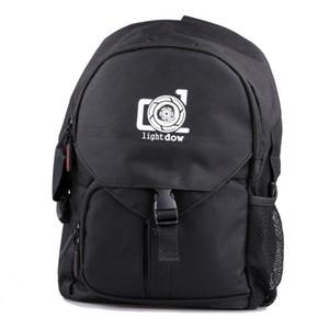 Lightdow Su Geçirmez Açık Kamera Fotoğraf Çantası multi-fonksiyonel Kamera Omuz Sırt Çantası Gezisi Canon Nikon DSLR Kameralar için Fotoğraf çantası