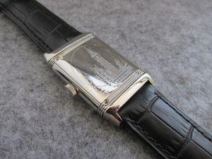 27x46mm Reverso ultra sottile Q2788570 acciaio inossidabile tributo al 1931 London Edition quarzo uomo orologio da donna impermeabile orologio da polso di alta qualità