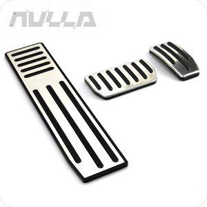 Para Tesla Modelo S Modelo X Descanso Modificado Pedais acelerador freio embreagem Pads 3 pçs / set