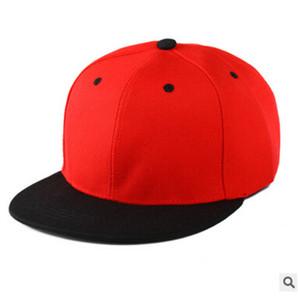38 Couleurs Designer Plaine Hip Hop Caps Réglables Snapbacks Chapeaux De Baseball Blancs Pour Adultes Hommes Femmes Été Visière De Soleil Snapback Cap