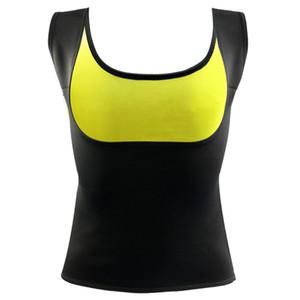 DropShipping ECMLN 2017 Mujeres Ropa Neopreno Camiseta Tops Nueva Moda Body Shapers Adelgazar Cintura Chaleco Delgado Underbust Venta Caliente