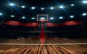5x7ft 비닐 농구 필드 사진 스튜디오 배경 배경