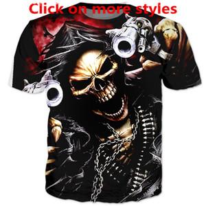 Новая мода пары Мужчины Женщины унисекс аниме Iron Maiden убийцы смешно 3D печати нет крышки повседневная футболка Футболки тройник топ