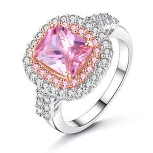 El anillo VOGUE vende un anillo de gemas de piedras preciosas para damas nuevas de alto grado 6 # - 9 # G402 #