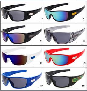 2018 novos óculos de sol womendriving galss óculos de ciclismo esportes deslumbrantes óculos homens revestimento reflexivo sol vidro A ++ 11 Cores