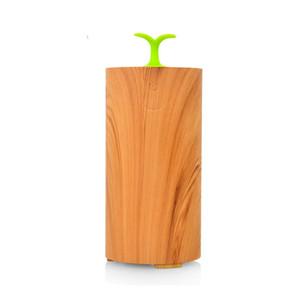 Araba Aroma Uçucu Yağ Difüzörü Ahşap Tahıl Uçucu Yağ Nebulizatör Elektrikli Fan Parfüm Difüzör Hediyeler için 10 ml