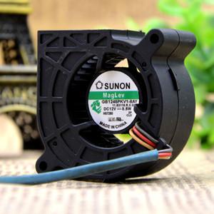 Para Jianyan SUNON GB1245PKV1-8AY original 12V 0.5W turbo proyector silencioso de 3 hilos