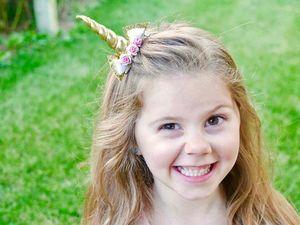 New Halloween accessoires pour cheveux fille mignonne bébé licorne Clips fille cheveux sequin bébé Barrettes Bow pour enfants Barrettes filles Accessoire cheveux A1852