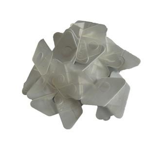 12 peças C L2 de plástico canhoto arco recurvo seta resto para arco recurvo na cor branca