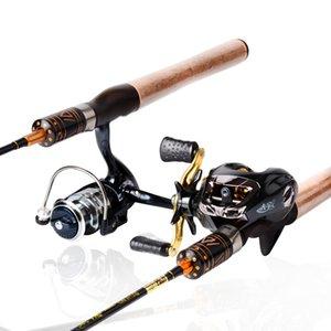 Hign Carbon Supersoft Lure Rod 1.8M Ulltralight Casting / Spinning Stream Rod Superslim Alta calidad Equipo de pesca Set de pesca