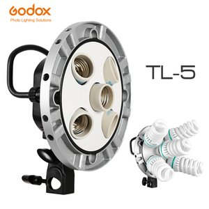 الجملة استوديو الصور TL-5 5in1 E27 المقبس الالوان الثلاثة ضوء المصباح رئيس مصباح متعدد حامل للكاميرا التصوير الإضاءة