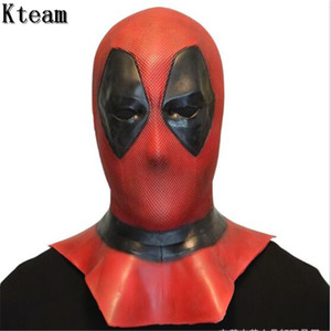 Hot Sale Movie Deadpool 2 Marvel Deadpool Masks Halloween Cosplay Costume Props Superhero Movie Mask Collectible Toys Full Face Mask