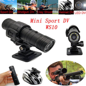 High Quality WS10 Night Vision Sport Action Camera DV Waterproof Camera Recorder with Holder Car Bicycle Motorcycle camera Drivin MIni DV