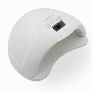 Sun5 plus 48W écran LCD Smart Sensor rapide guérissant tous Gel UV Led sèche Polish Nail lampe pour 2 mains