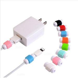 Protetor de cabo universal usb data sync charger fones de ouvido cabo de linha de salvador Protetor case Savers para iphone 8 7 7 s 6 6 s 5 S além de