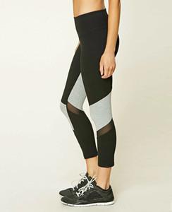 Frauen-aktive Eignungs-Gamaschen-Hosen-elastische Hosen-Frau Fitness Pants Quick Dry Sportswear Womens, das Eignungs-Yoga-Hosen der hohen Taille laufen lässt