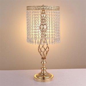 Pretty Table Centerpiece elegante Kerzenhalter Hochzeit Twist Ball Riesenrad Roman Crystal Candlestick einfach tragen kleine 70zy cc