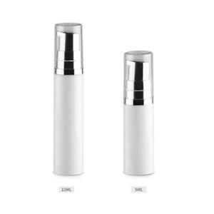5 ml 10 ml Boş Kozmetik Havasız Pompa Losyon Şişe Mini Doldurulabilir Güzellik Konteyner ile pompa temizle kap F567