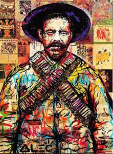 Alec Монополия расписанную / HD печати Мексиканский Cartoon Graffiti Pop Art Картина маслом на холсте офисной культуры Мульти Размеры
