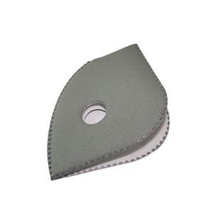 10pcs / lot filtre pour masques mise à niveau de remplacement du masque anti-poussière cyclisme avec filtre à charbon actif bon équipement de protection