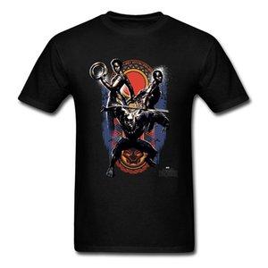 Мужская летняя футболка с коротким рукавом Heroes of Wakanda Print Image футболка Онлайн 100% хлопок o-образным вырезом повседневная футболка мужская мода топы тройники