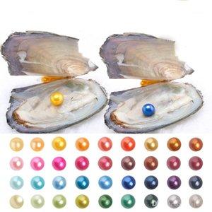 2018 Nova 6-7mm Akoya Natural de Pearl Oyster Com Rodada soltas pérolas para DIY jóias fazendo Vacuum Packaging Atacado