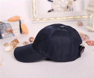 Estilo europeo de alta calidad Cap lona de los hombres de las mujeres del sombrero del deporte al aire libre Strapback del sol del sombrero gorra de béisbol con la caja