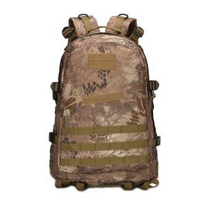 Outdoor-Sporttaschen Wasserdicht Militär 3DTactical Rucksack 40L Camouflage Hochwertige Oxford Climbing Camping Sportrucksäcke