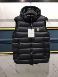 M 브랜드 프랑스 anorak 남성 겨울 조끼 gillets 영국 인기 gilets 자켓 몸 따뜻하게 따뜻한 플러스 사이즈 맨 아래 및 파키스탄 anorak 조끼