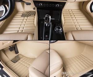 Alfombrillas de auto de alta calidad para Nissan Note LIVINA Rouge X-trail Altima Qashgai Sentra Murano revestimientos de piso de estilo 3D (2007-)