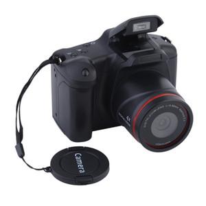 """Portatile 2.4 """"Schermo LCD Fotocamera digitale Manuale Zoom ottico 4X SLR Funzionamento Uso domestico Anti-Shake Toy Videocamera DV Videocamera HD"""