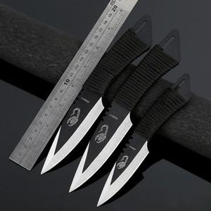 CYHWD13 hohe Härte reparierte Blatt-Messer-Edelstahl-Tauchmesserset mit Nylonhülle Außenallzweckmesser