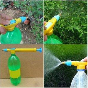 Verkäufe !!! 2020 heiße Verkäufe Mini-Saftflaschen Schnittstelle Kunststoff Trolley Gun Sprayer Kopf-Wasser-Druck Bewässerung Ausrüstungen