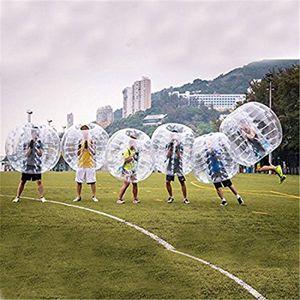Frete grátis 1,5 m Para adultos bolha inflável bola de futebol Corpo Zorb Bubble Ball Football Bumper futebol Para Hot Sale
